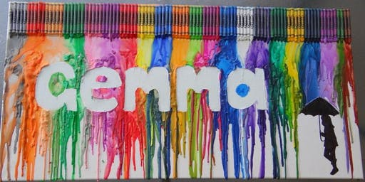 Crayon Melt Name