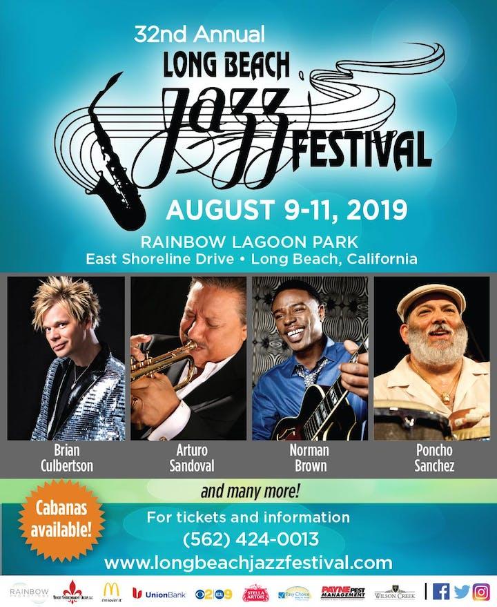 32nd Annual Long Beach Jazz Festival - Saturday - 10 AUG 2019