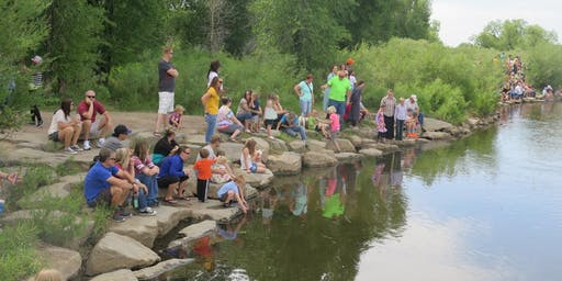 Laramie Rotary Club's Local Duck Race