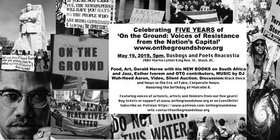 Fifth Anniversary Celebration for On the Ground Radio Show!