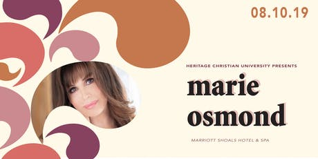 Heritage Event With Marie Osmond tickets