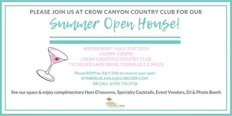 Crow Canyon Country Club Summer Open House tickets