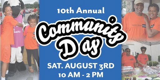 10th Annual Community Day Sponsored by Microsoft