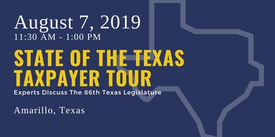 State of the Taxpayer Tour — Amarillo