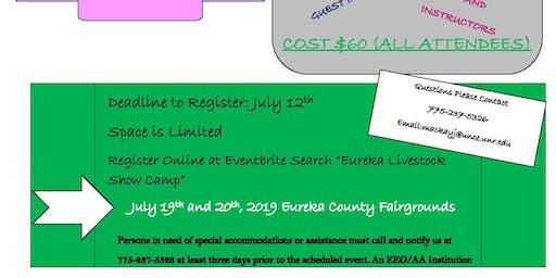 Eureka Livestock Show Camp