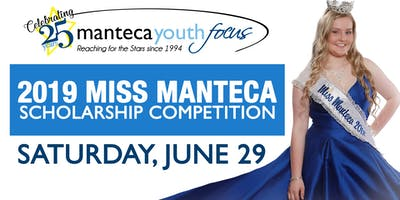 2019 Manteca Youth Focus Scholarship Competition
