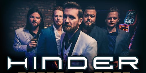 Hinder at Mesa Theater