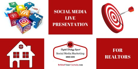 Social Media Secrets For A Successful Real Estate Business in 2019 tickets