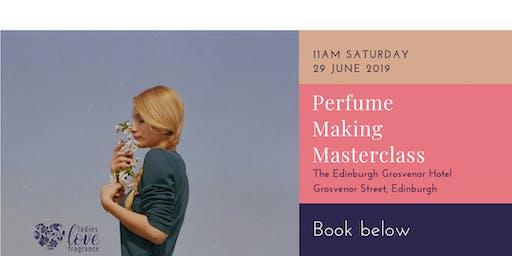 Perfume Making Masterclass - Edinburgh Saturday 29 June at 11am