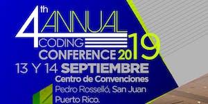 """4th Annual Coding Conference 2019"""