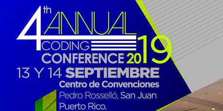 """4th Annual Coding Conference 2019"" tickets"