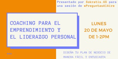 Coaching para el Emprendimiento y el Liderazgo Personal