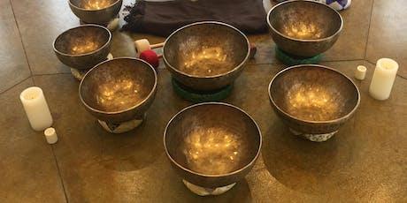 Sound Bath Himalayan Singing Bowls tickets