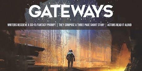 Gateways: Sci-Fi + Fantasy Writing Prompt Series tickets
