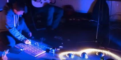 IMPROVISING with electronics instruments & stuff