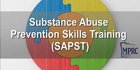 Substance Abuse Prevention Skills Training (SAPST) -Minneapolis tickets