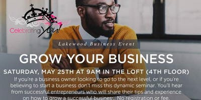 Celebrating You, Inc. Invites You to - Grow Your Business