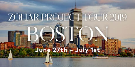 Zohar Project Tour Boston - Volunteer Registration. tickets