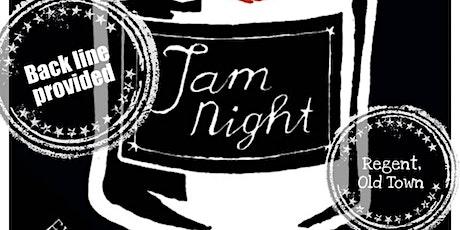 JAM NIGHT tickets