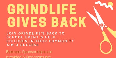 GrindLife Gives Back (Back2School Drive)  tickets