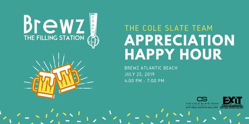 The Cole Slate Team Appreciation Happy Hour
