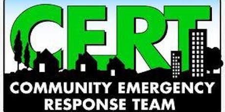 CERT Emergency Communications - October tickets