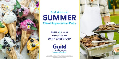 3rd Annual Summer Client Appreciation Party tickets