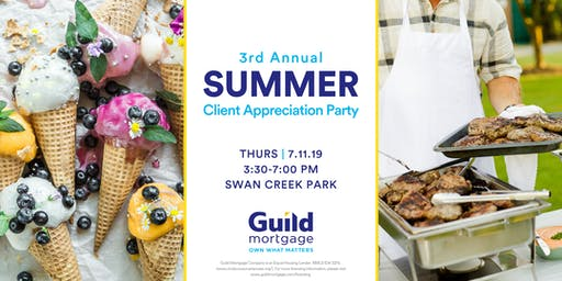 3rd Annual Summer Client Appreciation Party