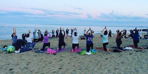 Full Moon Beach Yoga and Live Music