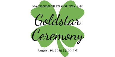 Nacogdoches County 4-H Goldstar Ceremony