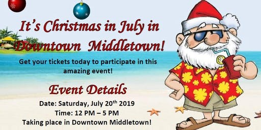 Downtown Middletown Christmas Ornament Crawl