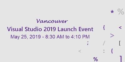 Visual Studio 2019 Vancouver Launch