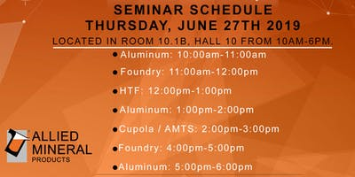 Allied Mineral Products Aluminum Seminar (Session