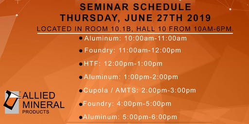 Allied Mineral Products Aluminum Seminar (Session 1)