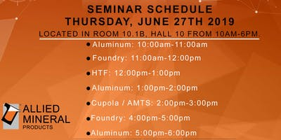 Allied Mineral Products Aluminum Seminar (Session 2)