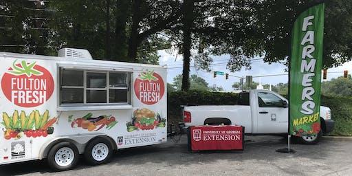 Fulton Fresh Mobile Market - Camp Truitt Senior Center