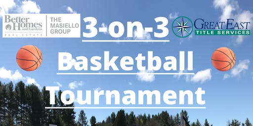 3 on 3 Basketball Event - Wells, ME