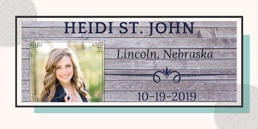 Heidi St. John - Lincoln, NE