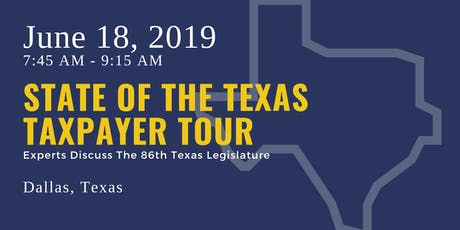 State of the Taxpayer Tour — Dallas tickets
