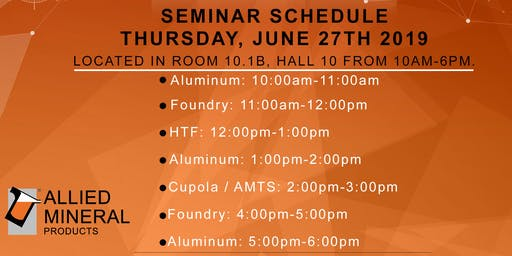 Allied Mineral Products HTF Seminar