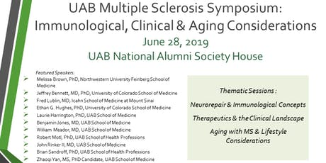UAB Multiple Sclerosis Symposium: Immunological, Clinical & Aging Considerations  tickets