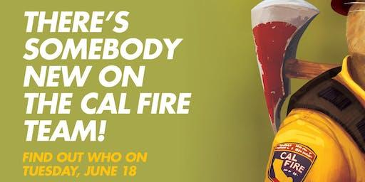 Meet the newest CAL FIRE Team Member!