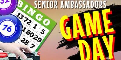 Senior Ambassadors Game Day (Age 60 and up)