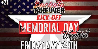 Bachata Takeover: Kick-Off Memorial Day Weekend