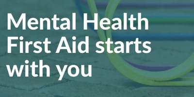 Mental Health First Aid Adult 2 day course