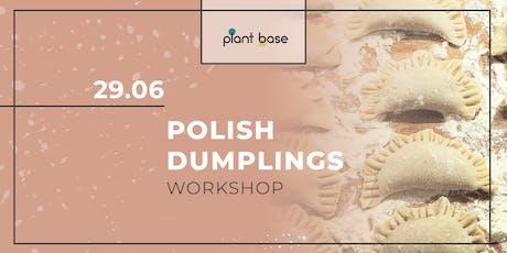Polish Dumplings Workshop *vegan* Tickets