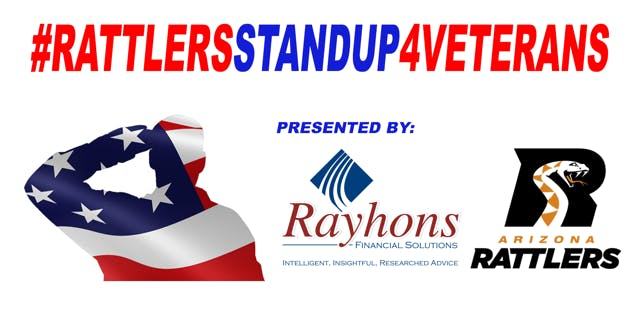 Rayhons & AZ Rattlers 4th Annual Veterans Event