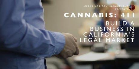 Cannabis 411: The Business of Legal Cannabis (San Luis Obispo) tickets