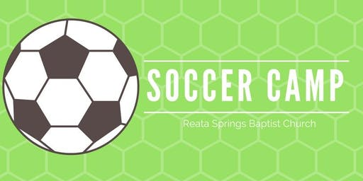 Reata Springs Soccer Camp 2019