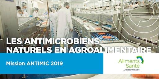 Mission à Antimic 2019 : Symposium sur les antimicrobiens naturels